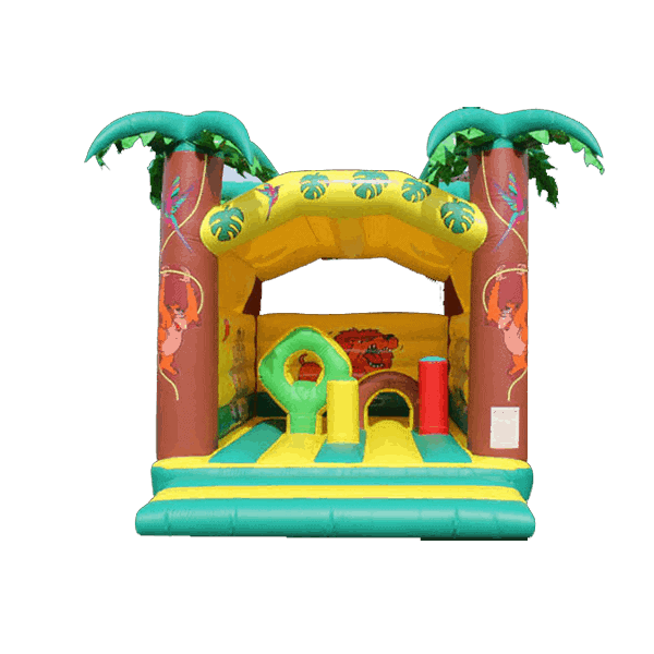 Château gonflable jungle obstacle