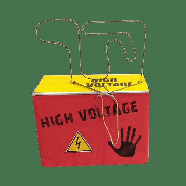 High voltage : le jeu détouré