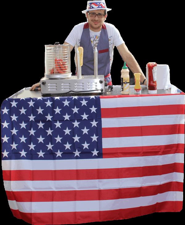 Stand Hot Dog - Stand américain