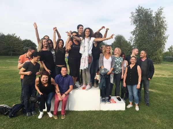 Olympiades : le podium de la victoire