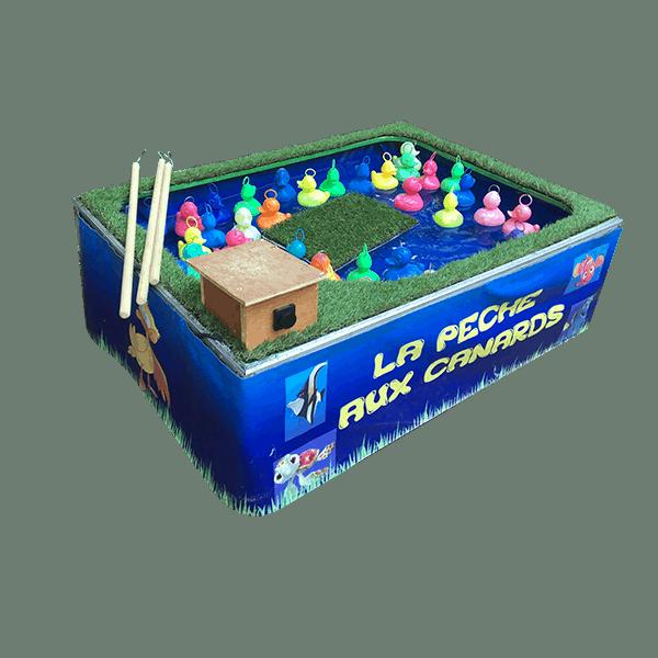 Peche aux canards : le jeu détouré