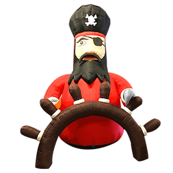 Pirate gonflable 4m