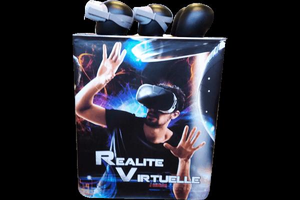 Realité virtuelle : le stand