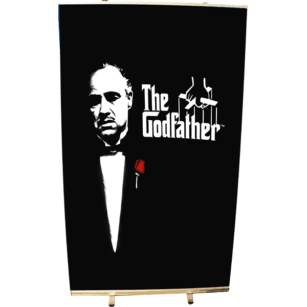 Roll Up 120 x 200 Godfather (le Parrain)