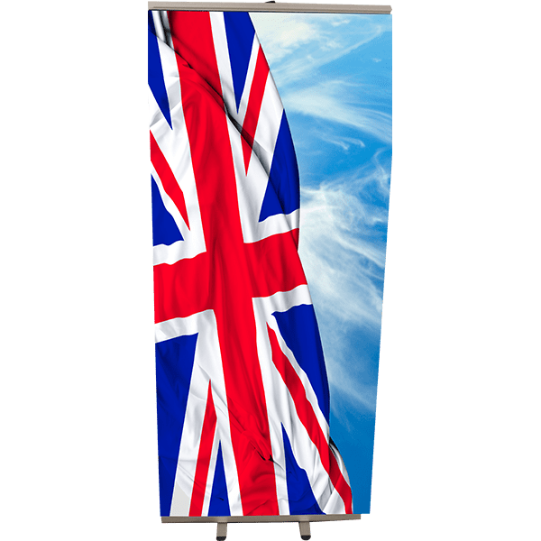 Roll Up england 85x200
