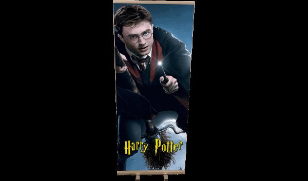 Roll up de décoration : Harry Potter sur son balai