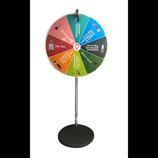 Roue de la chance : la roue