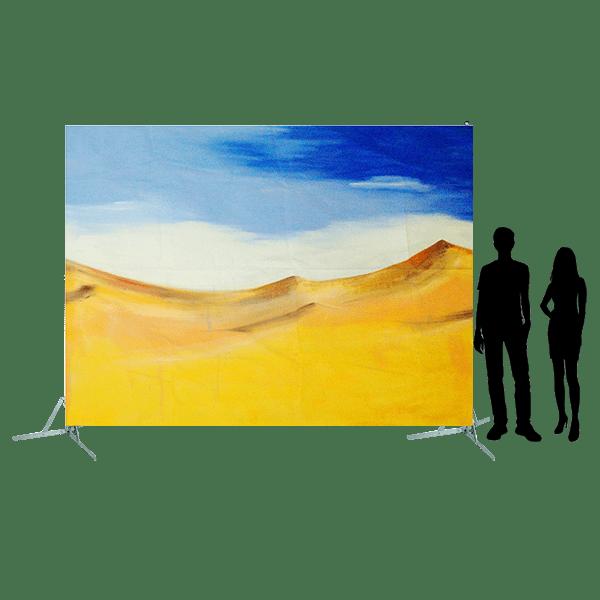 Toile 20 - dunes sous le ciel
