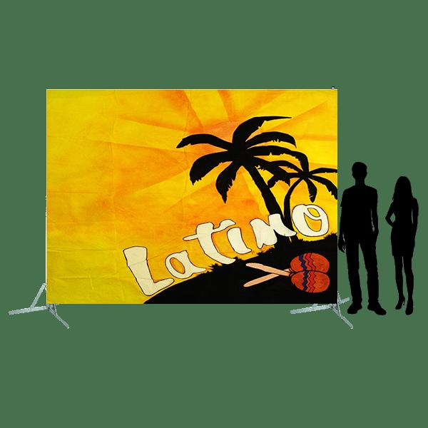 Toile 28 - décor latino