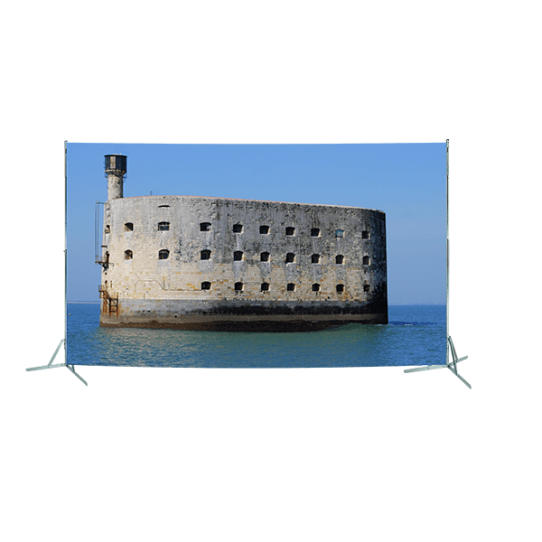 Toile géante : Fort Boyard