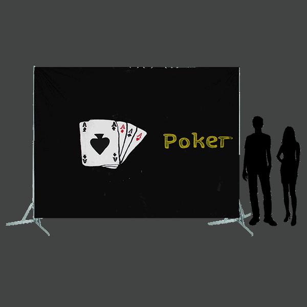 Toile 44 - Poker