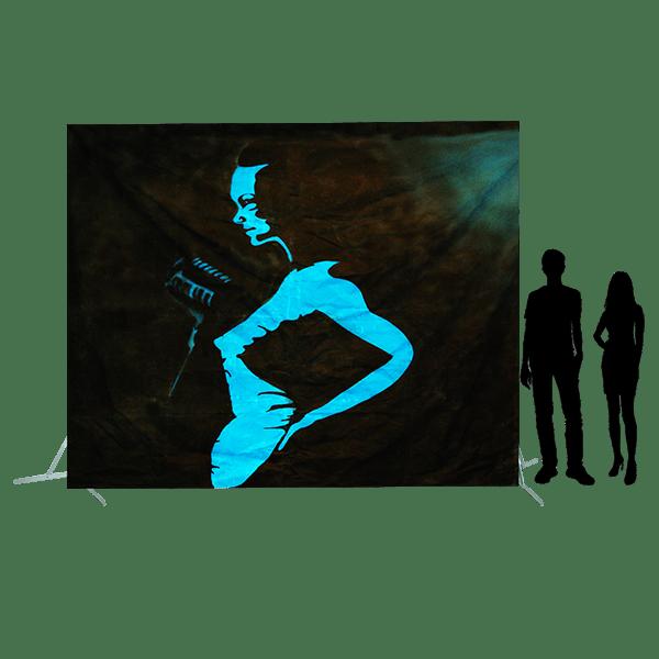 Toile 52 - Chanteuse de Jazz