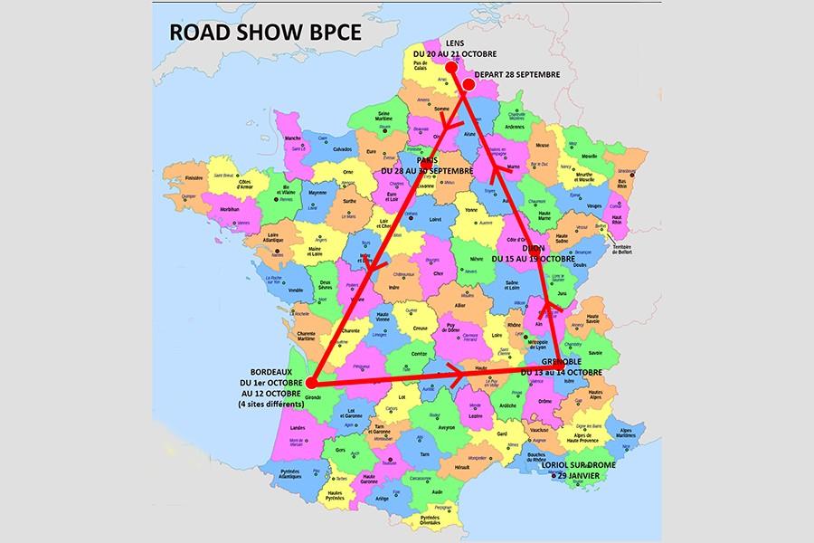 Raod show BPCE