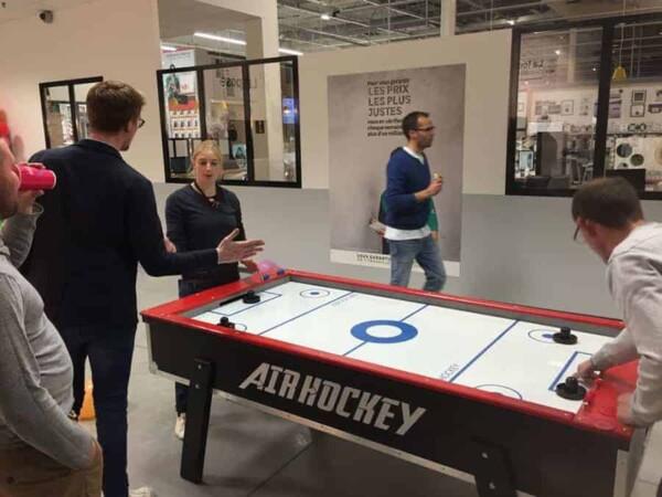 Air Hockey : prêt