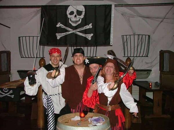 Animateur de jeu : les pirates