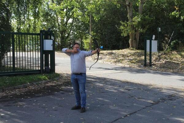 Fun Archery gonflable : le tireur