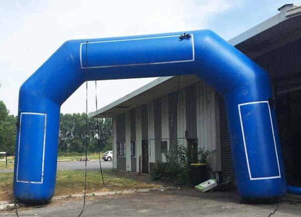 Arche gonflable - bleue simple