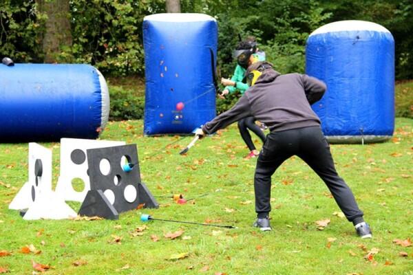 Archery tag : à bout portant