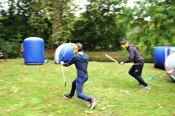 Archery tag : course