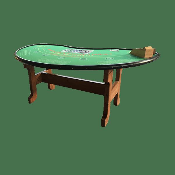 Black jack : la table détourée