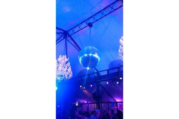 Boule à facettes 70cm : en soirée