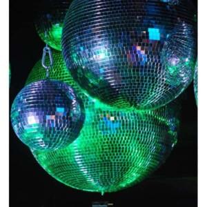 Boule à facettes 70cm : les boules