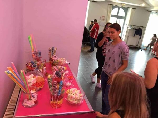 Candy bar :