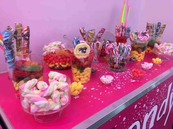 Candy bar : présentation 2