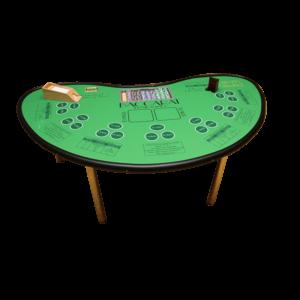 Casino - Baccarat Punto : la table détourée