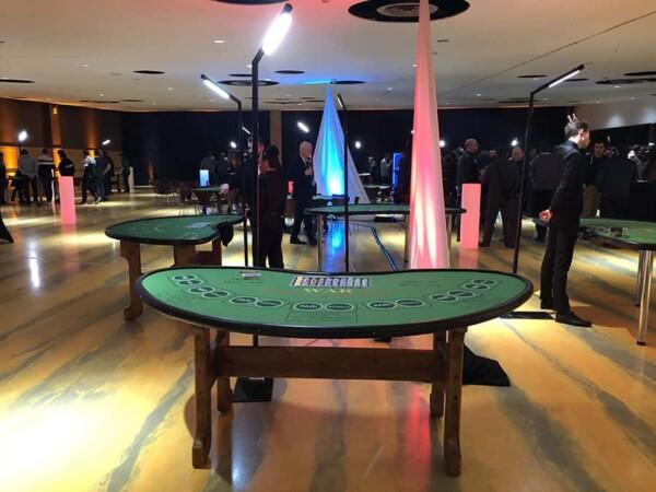 Casino - bataille - war : dans l'espace du jeu