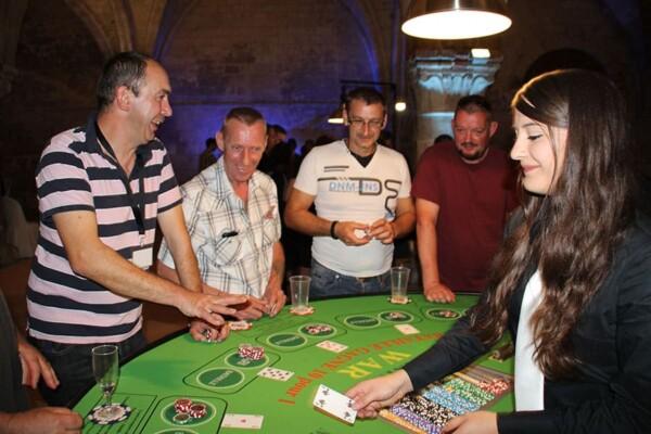 Casino - bataille - war : en jeu