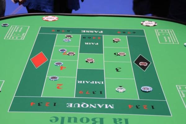 Casino - boule : le tableau de jeu