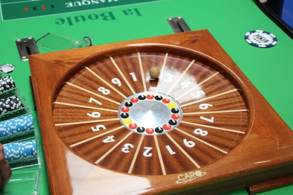 Casino - boule : le cylindre