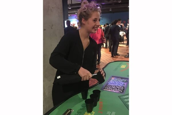 Casino des saveurs : la croupière