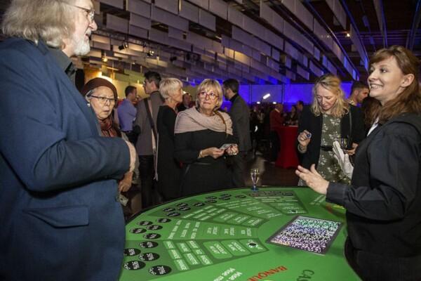Casino des saveurs : la table en place