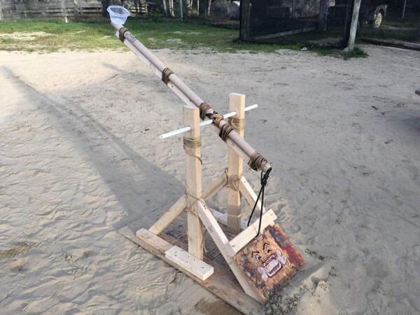 Catapulta : une catapulte