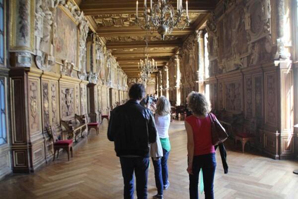 Chasse au trésor : dans le château de Fontainebleau