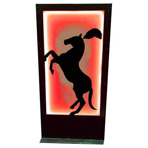 Panneau cirque cheval