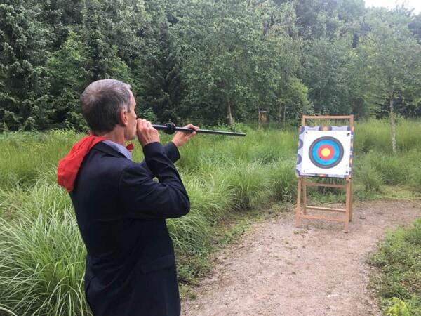Coeur de cibles : parcours de chasse