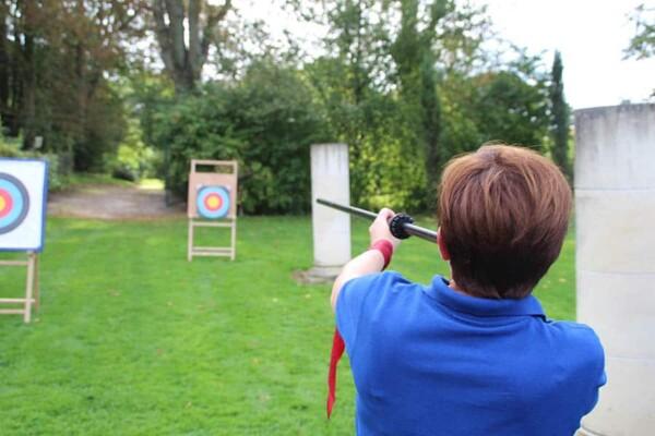 Coeur de cibles : tir sur cibles