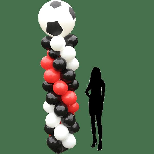 Colonne foot en ballon : présentation