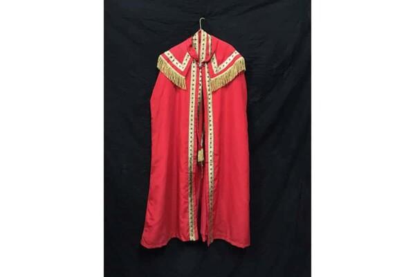 Costume St Nicolas : de face