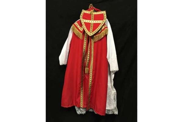 Costume St Nicolas : de dos