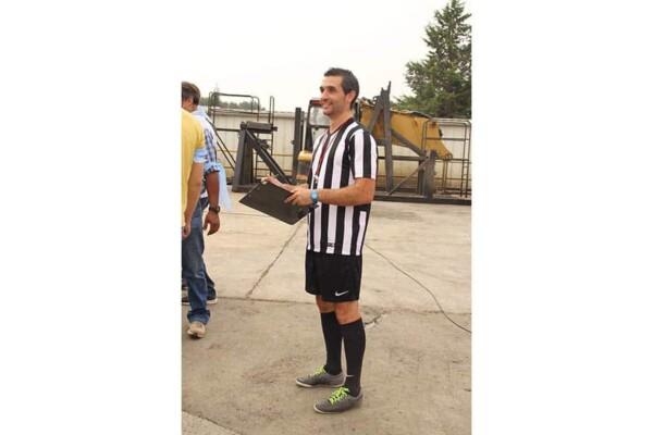 Coupe de foot : un arbitre