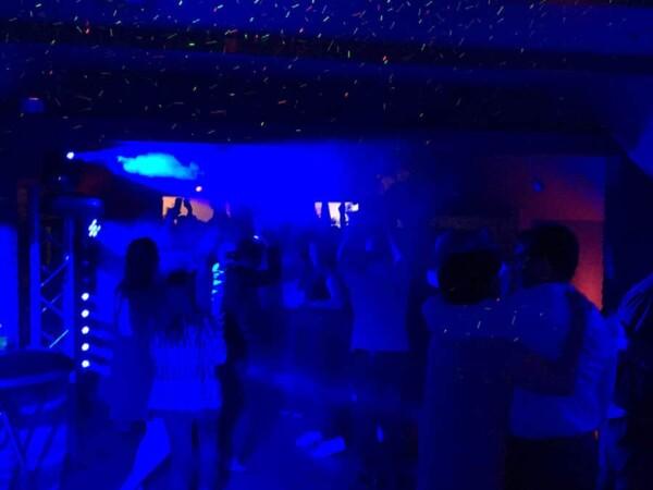 DJ Party : blue light