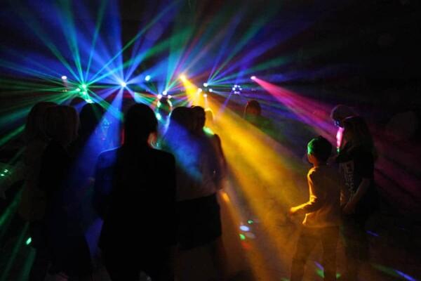 DJ Party : sun lights