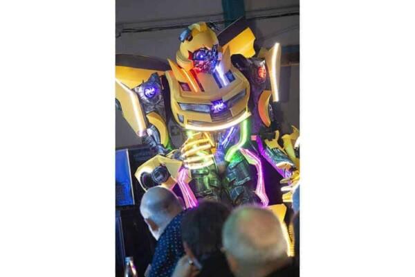 Robot Transformer : Bumblebee move