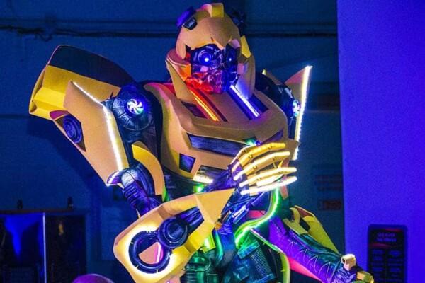 Robot Transformer : Bumblebee action