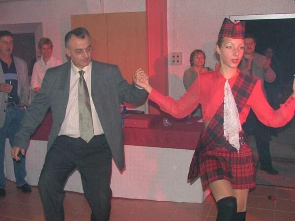 Danseuses : ambiance irlandaise