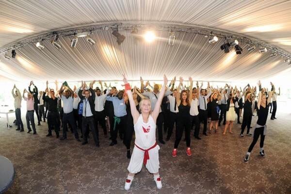 Danseuses : flash mob 400 pax